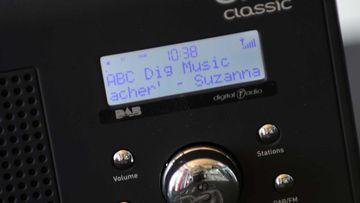A digital radio. (AAP)