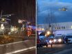 Children killed in horror train and bus smash