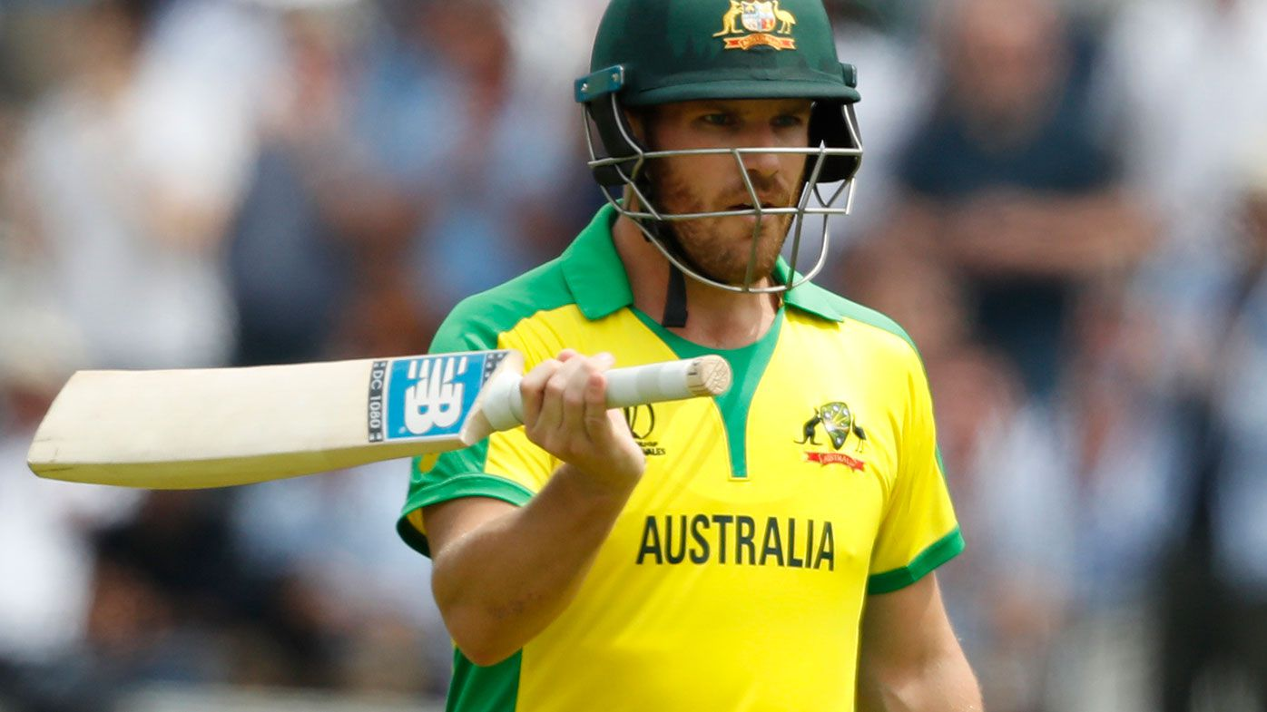 Aaron Finch is in doubt for Sunday's T20 against Sri Lanka.