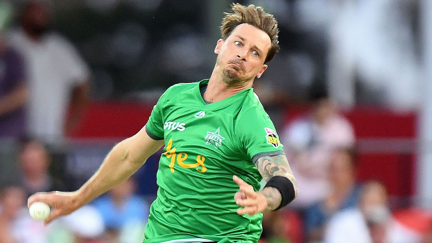 Dale Steyn's eventful first over in the Big Bash League