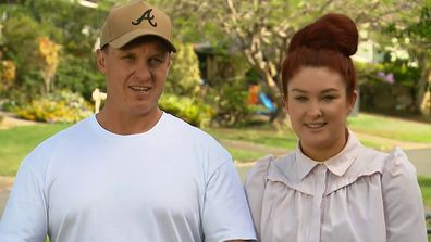 The Block's Jimmy and Tam open up about room reveal tie.
