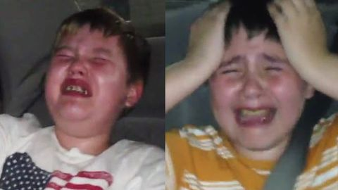 Watch: Crying brothers traumatised by Disney's latest 'feel-good' film