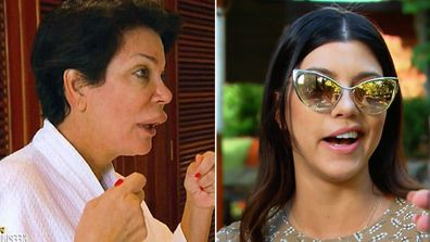 Kris Jenner and Kourtney Kardashian's lip fiascos