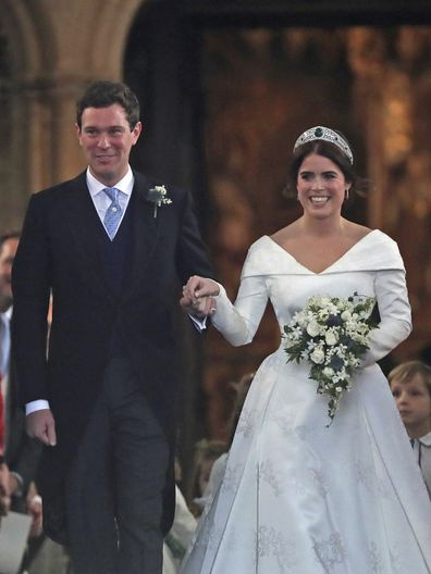 Princess Eugenie and Jack Brooksbank were married on 12 October at Windsor Castle in 2018.