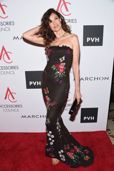 Carol Alt, 56, is now a raw food enthusiast. At the 2017 ACE Awards at Cipriani in New York.