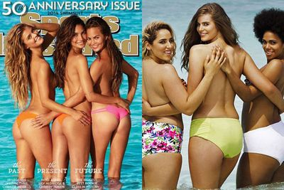 ... more so after she recreated the iconic <i>Sports Illustrated</i> swimsuit cover made famous by Nina Agdal, Lily Aldridge and Chrissy Teigen.