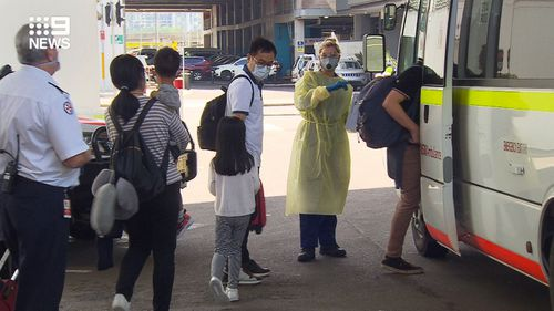 Six passengers who landed at Sydney Airport from China today have been sent for coronavirus tests.