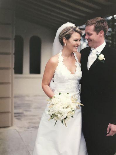 Georgie Gardner remembers her wedding day