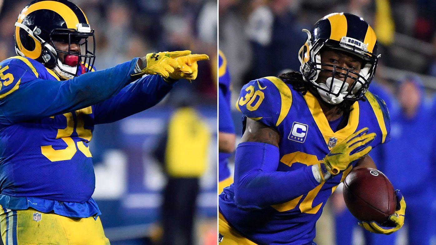 LA Rams' running game too good for Dallas Cowboys