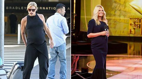 Sonia Kruger pokes fun at heavily pregnant body: 'I look
