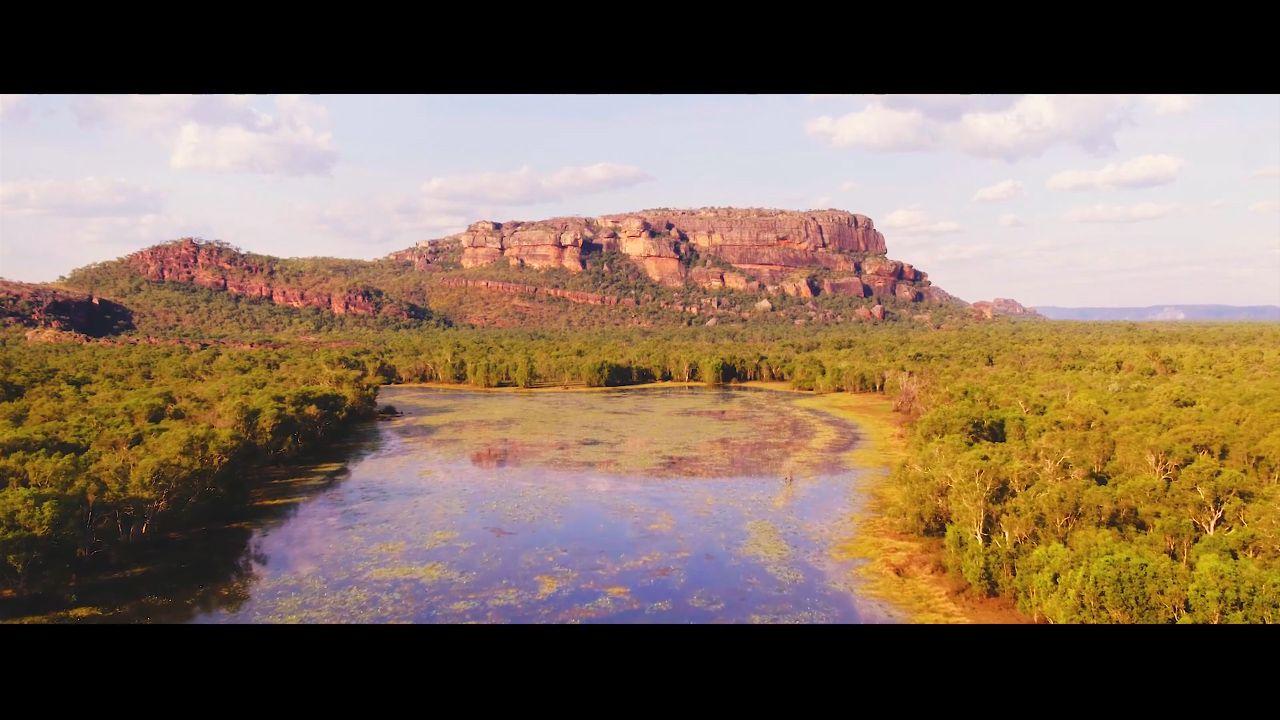First drone footage of Kakadu