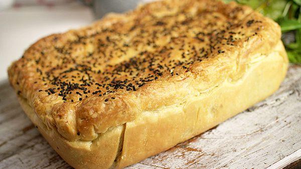 Matt Stone's re-pie-cled chicken and vegetable pie