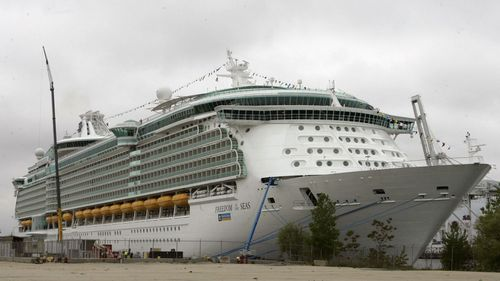The Freedom of the Seas is a cruise ship owned by Royal Caribbean.