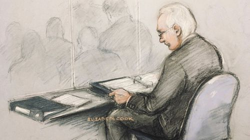 Julian Assange is being held in Belmarsh prison.