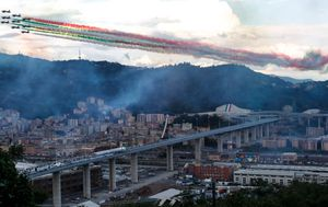 Genoa has new bridge two years after collapse that killed 43