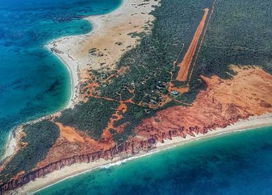 Cape Leveque from the sky