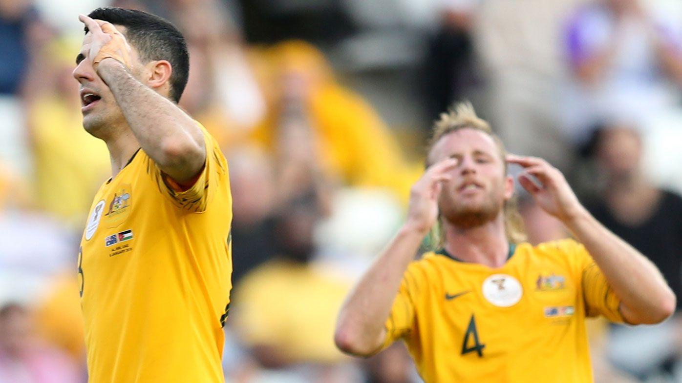 Socceroos star Tom Rogic having broken hand assessed in latest injury setback