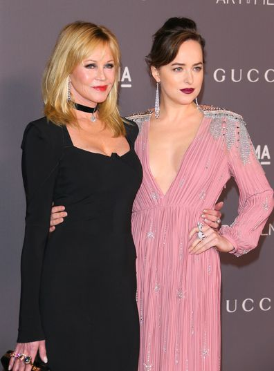 Melanie Griffith, Dakota Johnson, film gala