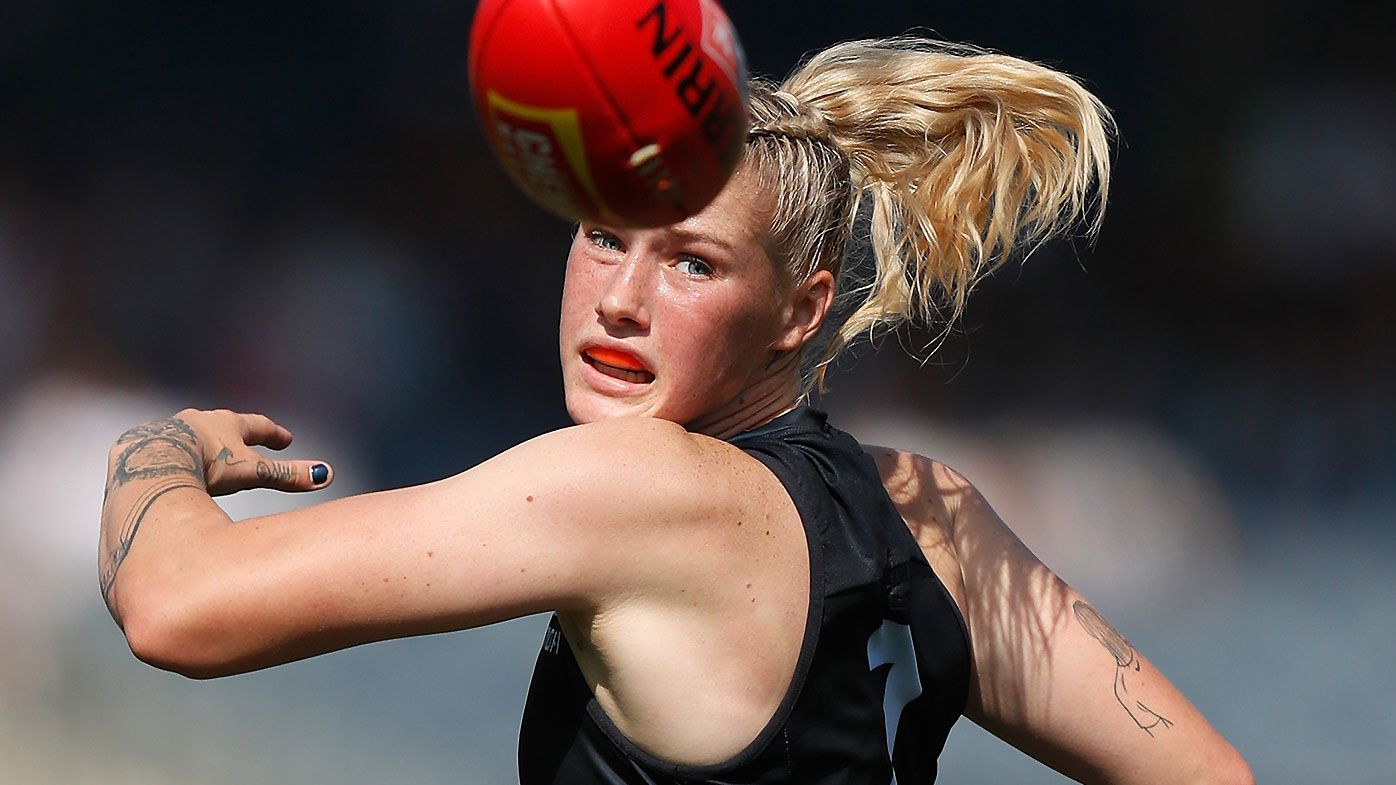 'I'll give up my AFLW wage': Tayla Harris launches passionate plea for social media accounts to monitor comments