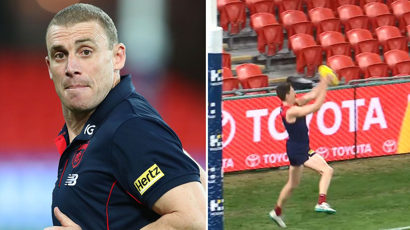 Melbourne coach Simon Goodwin blasts ARC system after late score review blunder proves costly