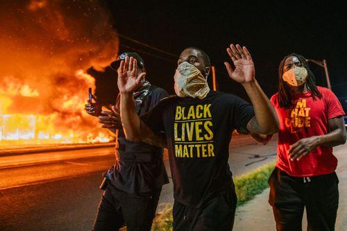 Kerusuhan sipil atas penembakan pria kulit hitam Jacob Blake