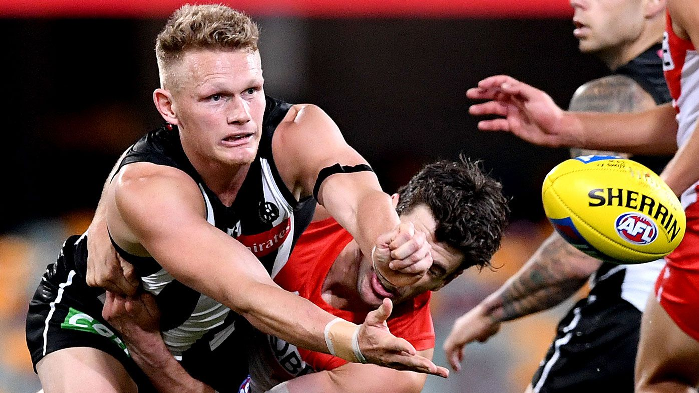 Collingwood's Adam Treloar reportedly told he's not wanted by Pies yet keen to stay