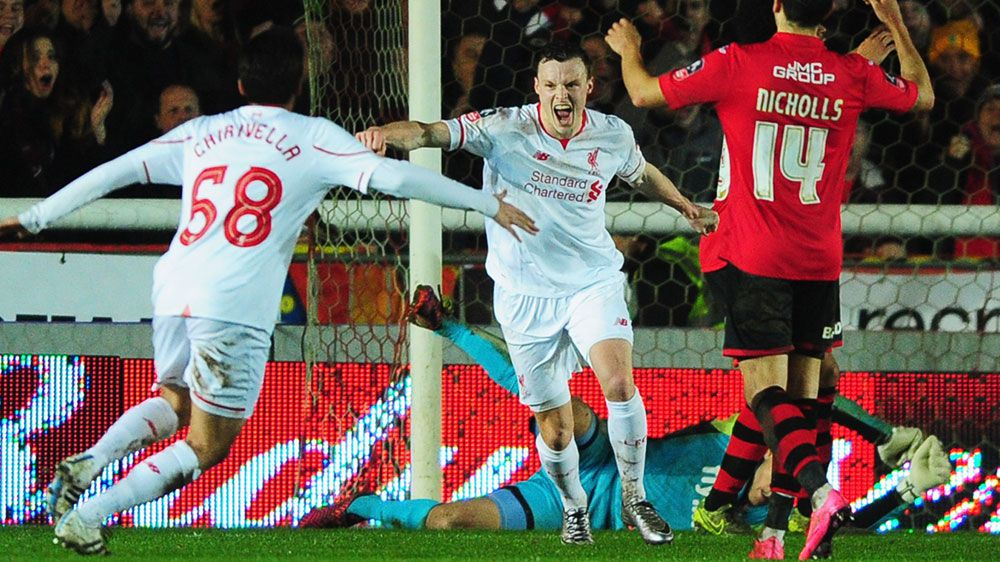 Socceroo Smith saves Liverpool in FA Cup