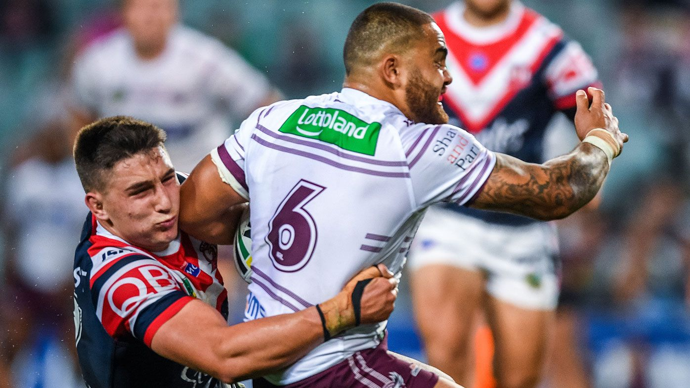 Sydney Roosters hitman Victor Radley inspired by Manly hitman Steve Matai's big hits