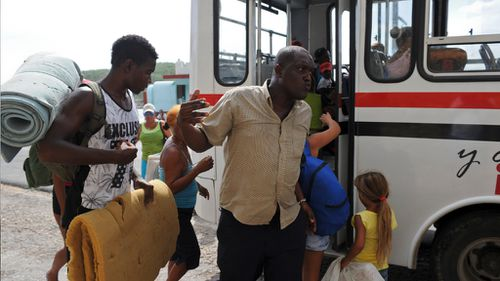Residents of Cuba's Granma Island were evacuated ahead of the storm. (AFP)