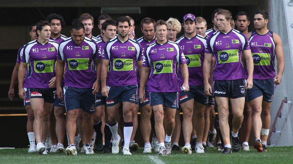 Melbourne Storm's infamous response to the salary cap scandal in 2010. (AAP)