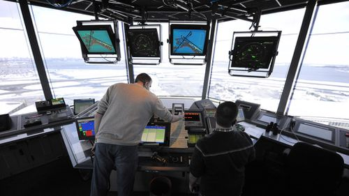 Air traffic is delayed at LaGuardia Airport in New York, Philadelphia International Airport and Newark Liberty International Airport in New Jersey due to staffing issues at a Federal Aviation Administration regional air traffic control center.