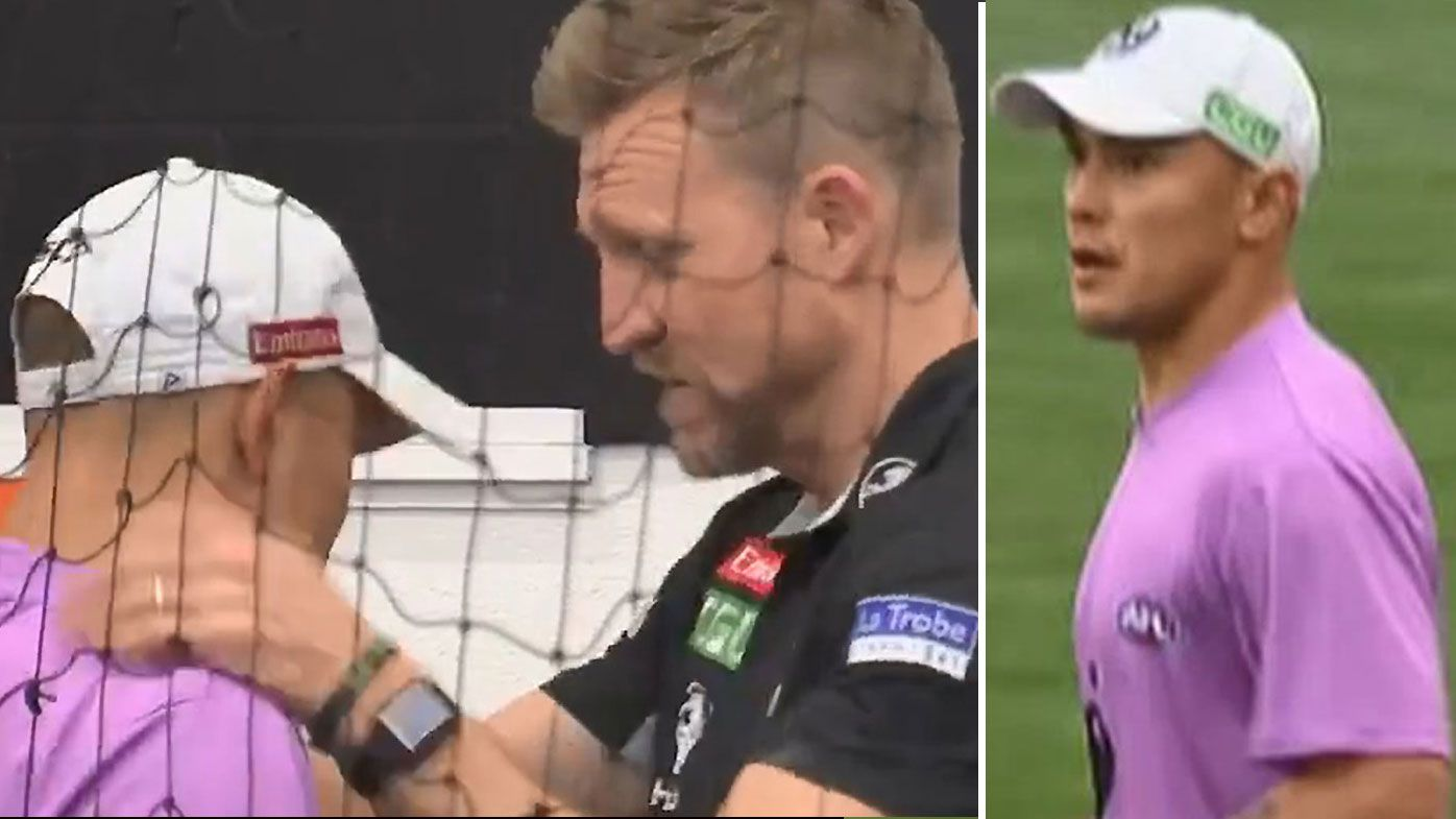 Jeremy Howe slams fans' treatment of runner Alex Woodward after Grand Final loss