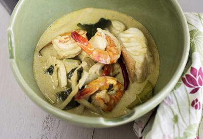 Marion's Thai seafood green curry