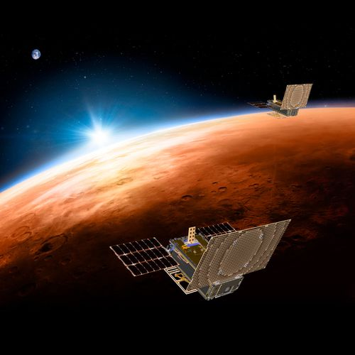 InSight will dig deeper into Mars than ever before — nearly five metres — to take the planet's temperature. (AP)
