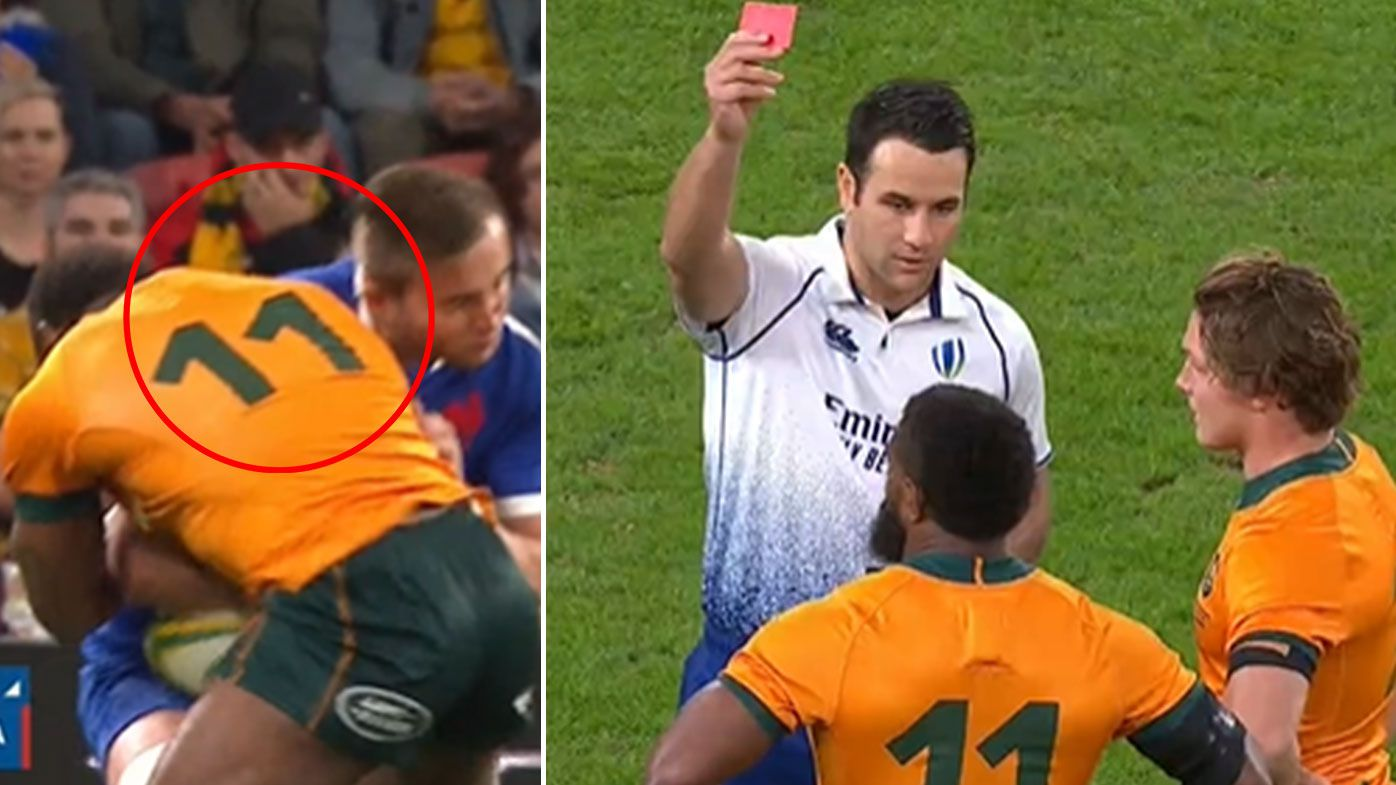 Wallabies star Marika Koroibete free to play after fronting World Rugby judiciary over controversial red card