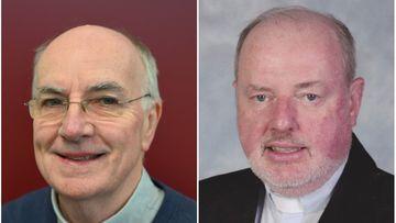 Fr Martin Ashe and Msgr Anthony Ireland.