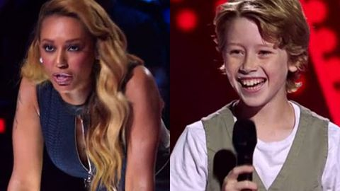 Voice Kids' Mel B gets 'really honest' with moonwalking 12-year-old Ky