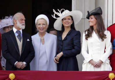 Prince Michael of Kent at Trooping the Colour in 2011.