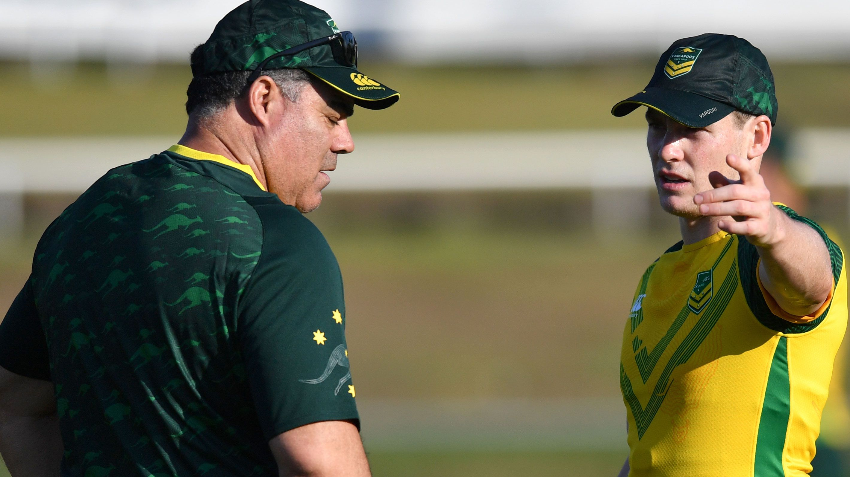 Andrew Johns concerned about new Kangaroos halves combination ahead of Tonga Test