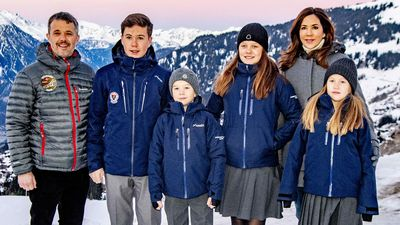 Crown Princess Mary and Crown Prince Frederik pull their children out of Swiss school