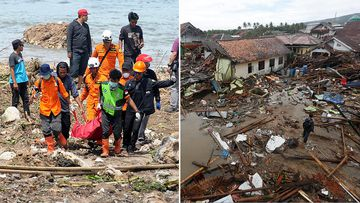 Experts warn a second wave could strike the Indonesia coast, just days after a monster tsunami killed more the 400 people.