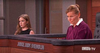 Judge Judy Sheindlin stars in new courtroom series Judy Justice with granddaughter Sarah Rose.