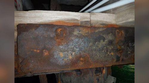 Photos reveal concerning deterioration of Circular Quay's iconic wharves.