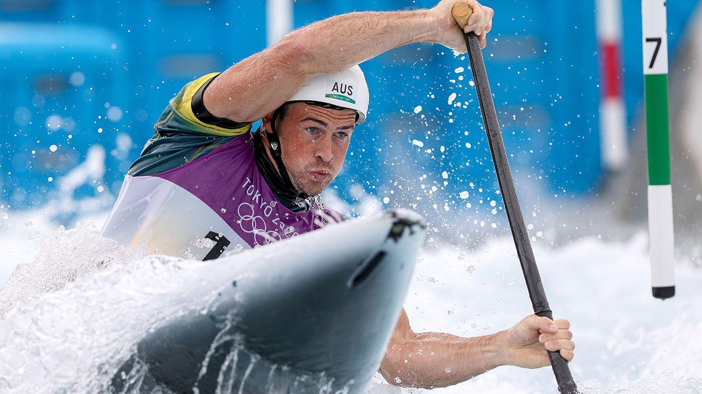 Australian Olympic canoeist Daniel Watkins hospitalised after return flight from Tokyo