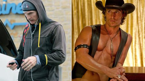 Stick thin: Matthew McConaughey's shock movie transformation