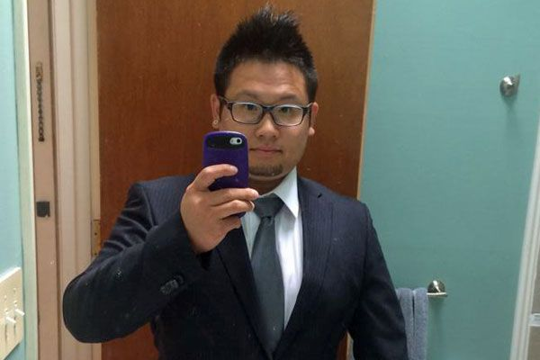 Nicholas Lam sells luxury cars to Chinese students in the US (Facebook)