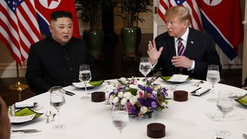 Donald Trump Kim Jong Un Vietnam Meeting