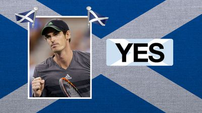 """Andy Murray, tennis player: """"'No' campaign negativity last few days totally swayed my view on it."""""""