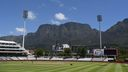 An empty Newlands ahead of the first One Day International.