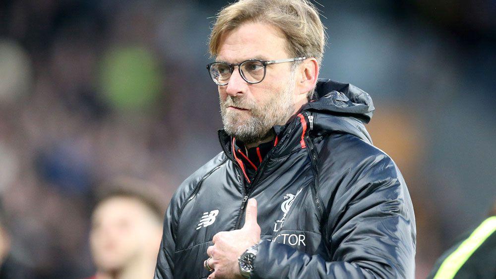 Liverpool manager Jurgen Klopp. (AAP)